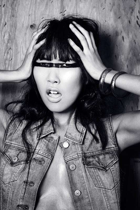 Denim // model: Makaha Sugita // hair&makeup: Lucy Crawford // stylist: Shane Tamoshunas // photographer: Meg Webster